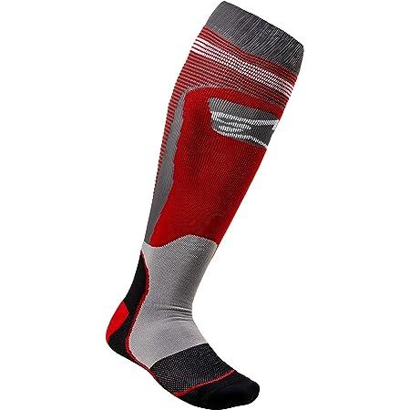 - Socks Alpinestars MX21 Burgundy//Black MX Pro S