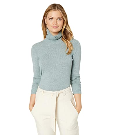 Pendleton Merino/Cashmere Turtleneck (Silver Trout) Women