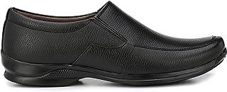 Andrew Scott Men's Black Leather Formal Shoes-10 UK/India (44 EU) (1421Black_10)