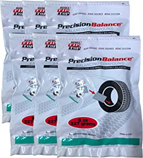 Rema Tip Top 6 PrecisionBalance Tire Balancing Compound Beads Kits - Drop in Bags - (8 oz. / 227 Grams) - (6 Kits)