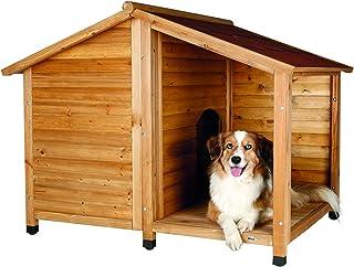 Trixie 39512 Rustic Dog House, Large, Glazed Pine