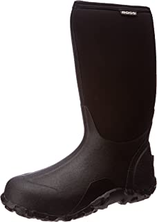 Bogs Mens Classic High No Handle Waterproof Insulated Rain and Winter Snow Boot
