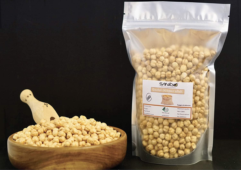 Garbanzos asados Leblebi (200 gramos): Amazon.es ...