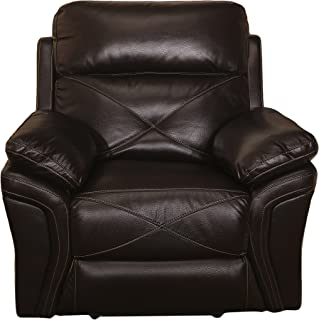 New Classic Furniture Galaxy Upholstery Recliner, Power, Chocolate