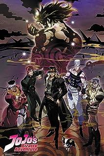 JoJo's Bizarre Adventure Poster Limited Anime Version, Size 24x36