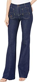 7 For All Mankind Women's Georgia in Uptown Rinsed