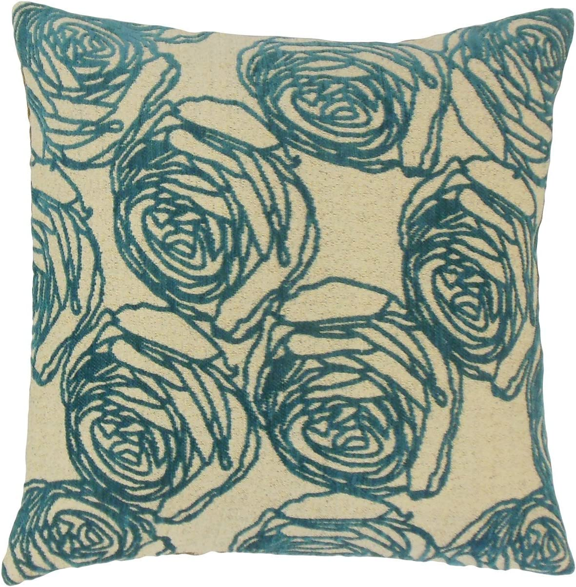 The Pillow Collection Ilaria Max 68% OFF New Free Shipping Cover Floral Throw