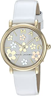 Marc Jacobs Casual Watch For Women Analog Leather - Mj1607,