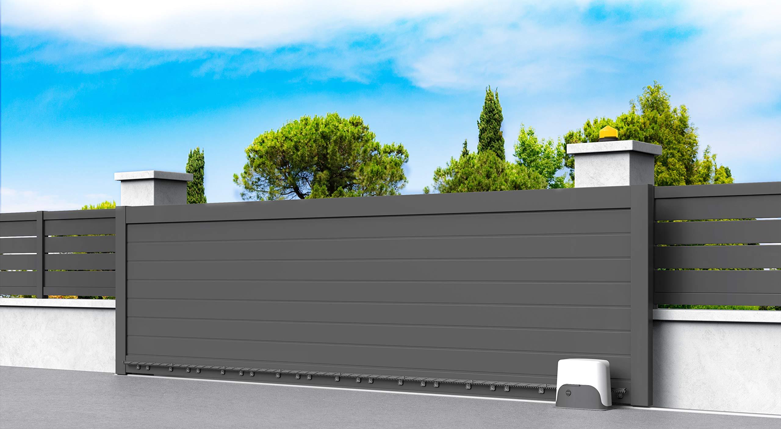 Thomson - Motorización Profesional para Puerta corredera (24 V, 400 kg, 8 m): Amazon.es: Electrónica