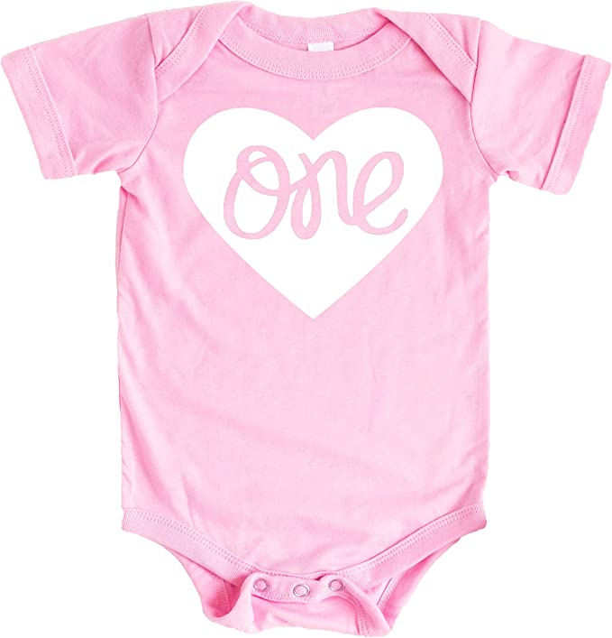 12 Monthly Bodysuits for Baby/'s 1st Year or Individual Bodysuits ~ Retro Heart Pin Up Girl Collection