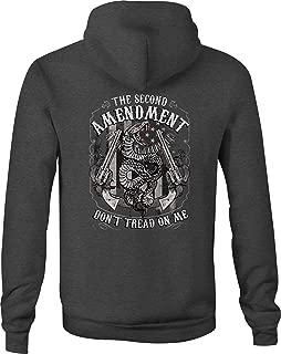 Gun Zip Up Hoodie 2nd Amendment Hooded Sweatshirt for Men