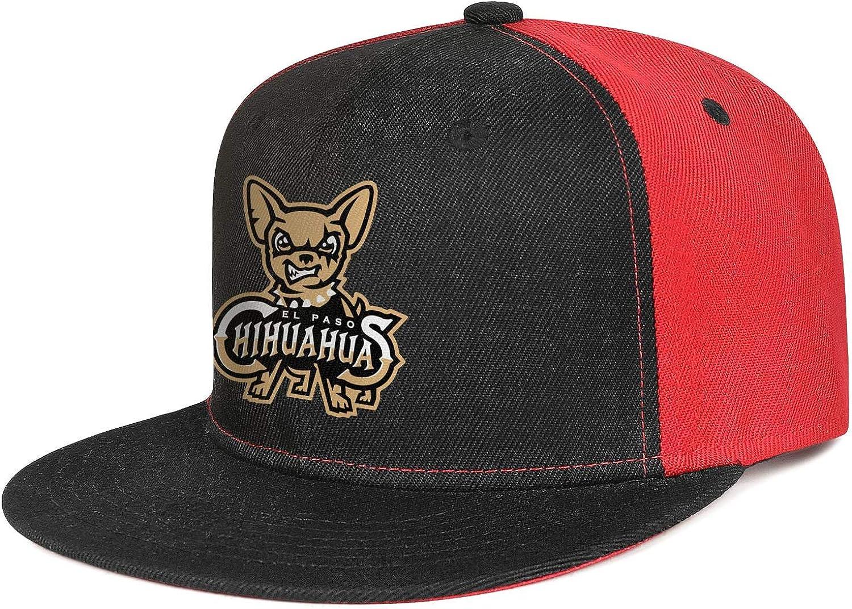 BSNDBG Las Vegas Mall Unisex Snapback Hats El Paso Chihuahuas Ho ...