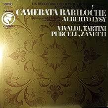 VIVALDI / TARTINI / PURCELL / ZANETTI - vinyl lp. GASPARO ZANETTI: MUSIC FORM