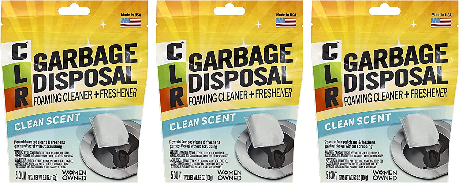 CLR Garbage Disposal Cleaner Pods 5 Year-end gift РаѠТhrее 67% OFF of fixed price