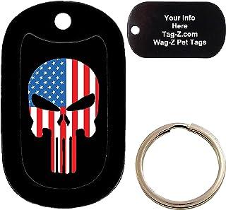 Custom Engraved Pet Tag AMERICAN