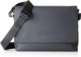 07b67f21c5 BOSS Athleisure Hyper_messenger, Sacs portés épaule homme, Noir (Black),  10x25x34 cm