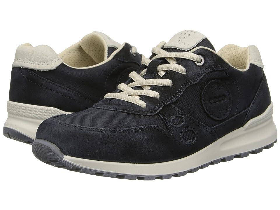 ECCO CS14 Retro Sneaker (Black/Black/Shadow White) Women