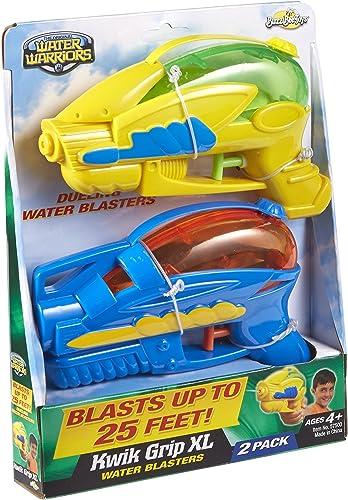 Buzz Bee Toys Water Warriors Kwik Grip XL Water Blasters 2 Pack by Water Warriors