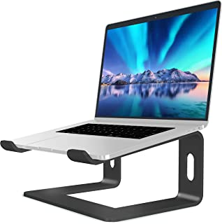 SOUNDANCE Laptop Stand, Aluminum Computer Riser, Ergonomic Laptops Elevator for Desk, Metal Holder Compatible with 10 to 1...