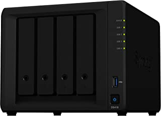 Synology DiskStation DS418, Black
