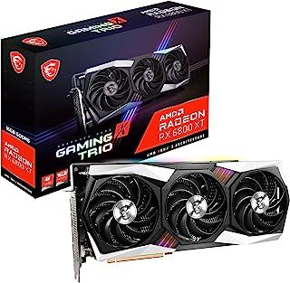 MSI Gaming Radeon RX 6800 XT 16GB GDRR6 256-Bit HDMI/DP 2285 MHz RDNA 2 Architecture OC Graphics Card (RX 6800 XT Gaming X...