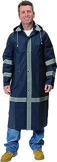Galeton 8000965-XXL-NB 8000965 Repel Rainwear Reflective 0.35 mm PVC Raincoat, 46