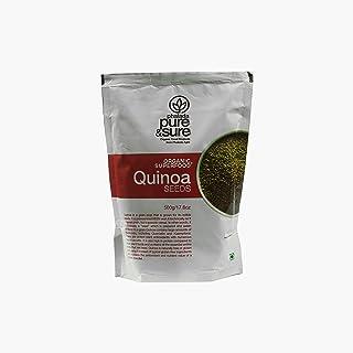 pure & sure Organic Quinoa Seeds - 500gm