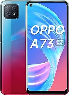 هاتف اوبو A73 الجيل الخامس، ثنائي شريحة الاتصال ، كاميرا ثلاثية ايه اي، CPH2061 8GB+128جيجا بايت، الدقة: 2400×1080 FHD- نيون