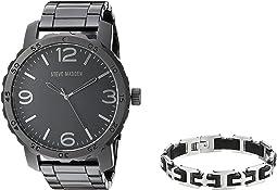 Analog Watch and Bracelet Set SMS590962