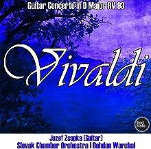 Vivaldi: Guitar Concerto in D Major RV 93