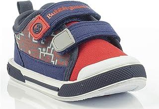 Bubble Gummers Irlanda Marino - Rojo Zapatos de Primeros Pasos para Bebé-Niños