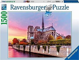 Ravensburger 16345 Picturesque Notre Dame Puzzle 1500pc,Adult Puzzles