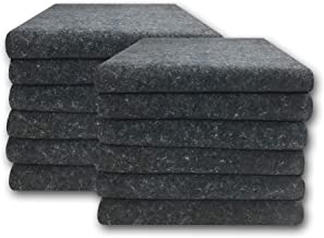 Uboxes Moving Blankets - Textile Skins - (12 Pack) 54x72 Pads 1.66lbs Each
