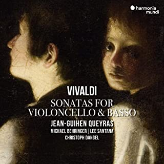ヴィヴァルディ : チェロと通奏低音のための6つのソナタ / ジャン=ギアン・ケラス (Vivaldi: Sonatas / Jean-Guihen Queyras) [CD] [Import] [日本語帯・解説付]