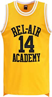 MOLPE #14 Yellow Basketball Jersey S-XXXL, 90S Hip Hop Clothing for Party, Stitched Letters and Numbers