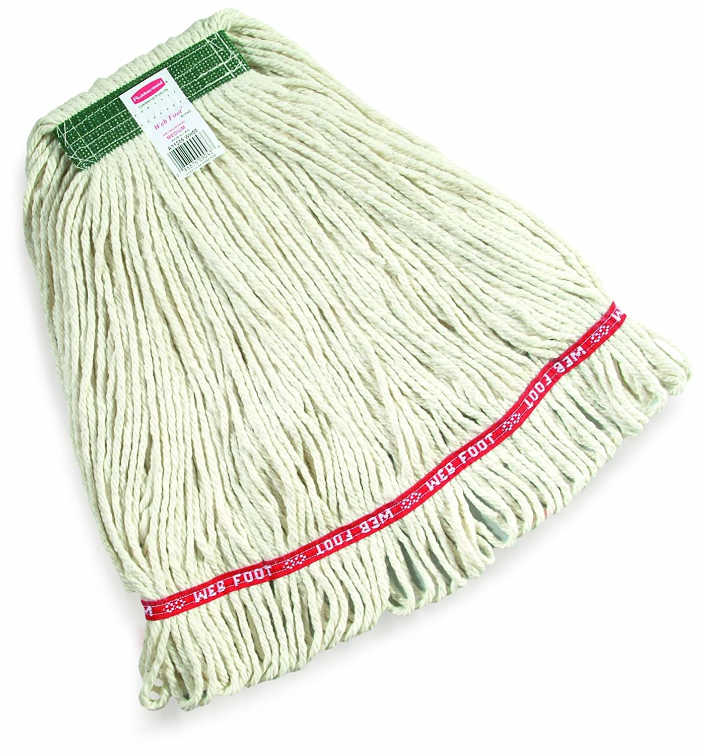 Rubbermaid A surprise price is Factory outlet realized Commercial Web Foot Blend Mop White FGA1 Wet Large