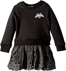 Little Marc Jacobs - Two-Piece Dress with Embroideries Details (Toddler/Little Kids)