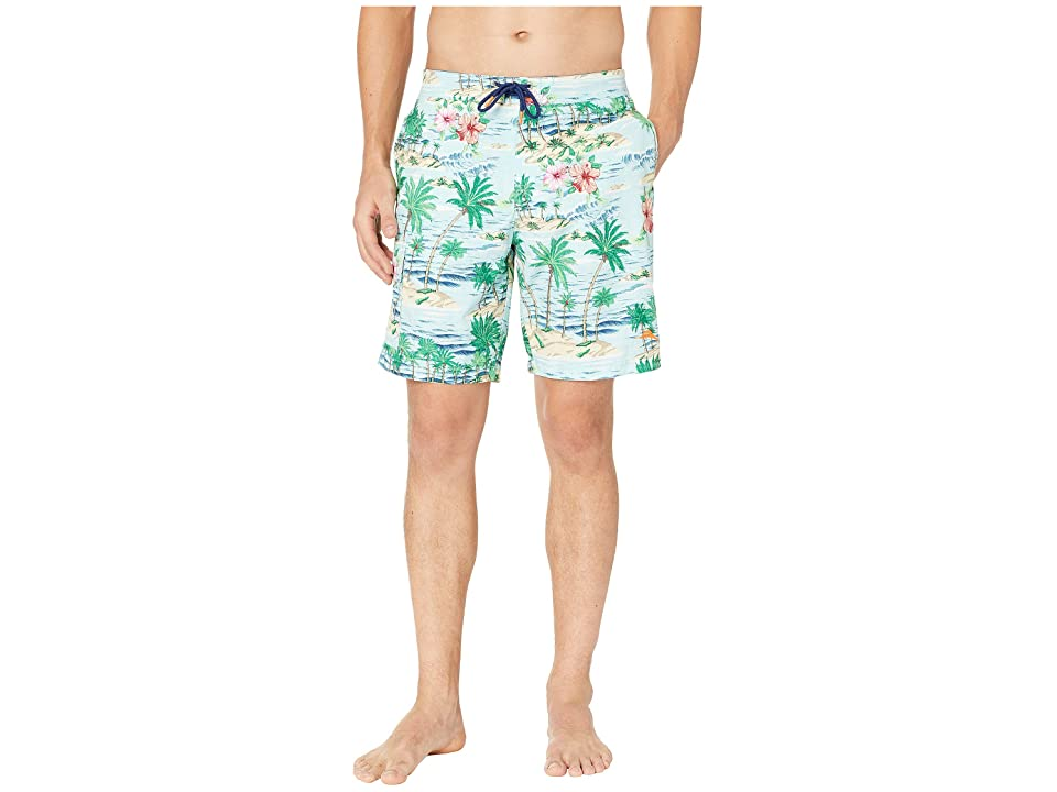 Tommy Bahama Baja Aloha Surf Boardshorts (Blue Swell) Men