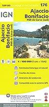 Corsica South (Corse, France) Ajaccio - Bonifacio 1:100,000 Hiking Map #176 IGN