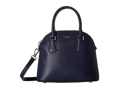 Kate Spade New York Sylvia Medium Dome Satchel (Blazer Blue) Handbags