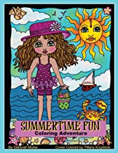 Summertime Fun: Summertime fun coloring adventure by Deborah Muller