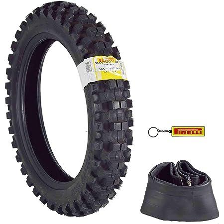 Pirelli Scorpion MX32 Extra X Dirt Bike 80//100-21 Front 110//90-19 Rear Motorcycle Tires Set w Authentic Pirelli Scorpion Key Chain
