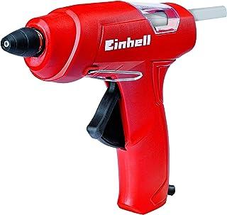 Einhell 4522170 Pistola de pegar (potencia de 200 W, 195º C, diámetro de 11 mm), 240 V, Negro, Rojo
