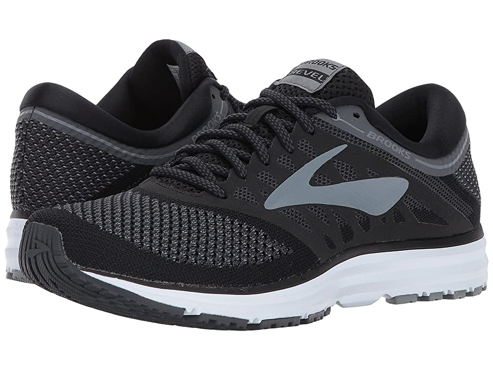 Brooks Revel (Black/Anthracite/Primer Grey) Women