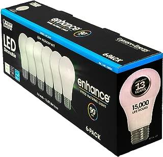 Feit LED Dimmable Enhance Vivid Natural Light 60 Watt 6-Pack