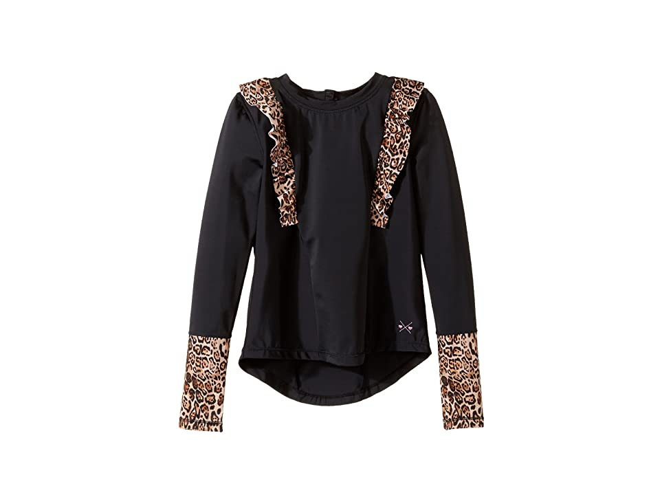 Bowie X James Sunseeker Rashguard (Toddler/Little Kids/Big Kids) (Black) Girl