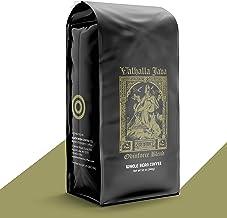 VALHALLA JAVA Whole Bean Coffee [12 Oz.] USDA Certified Organic, Fair Trade, Arabica and Robusta Beans (1-Pack)