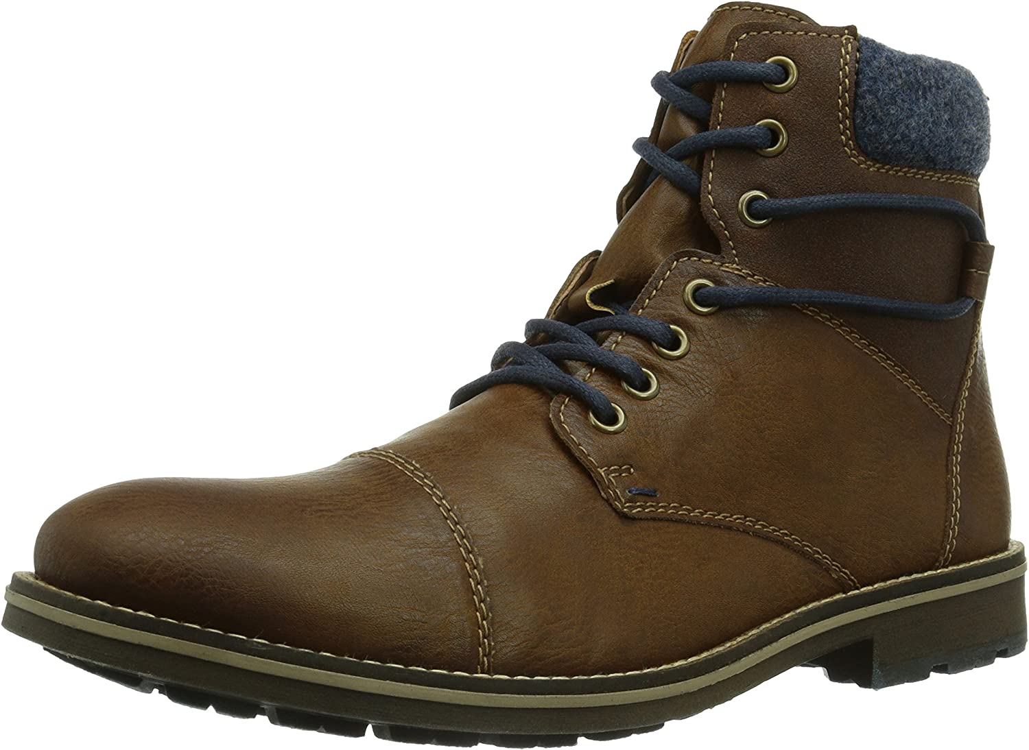 Rieker F1532-25, Men's Cold Lined Classic Boots Half Length