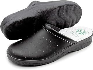 Antoufles Sanitaires Homme et Femme, Pantoufles Professionnelles Fermées, Sabots Sanitaires, Chaussures Orthopédiques Conf...