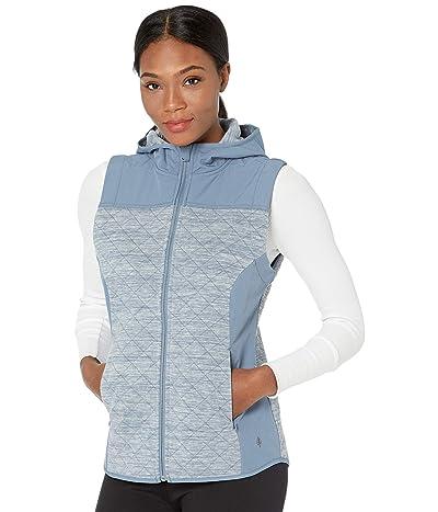 Royal Robbins Shadowquilt Hooded Vest (Sea) Women